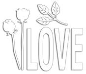 Love & Roses - Penny Black Creative Dies