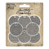 Metal Quote Tokens - Tim Holtz