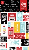 Wish Upon a Star Travelers Notebook Insert - Daily Calendar - Echo Park - PRE ORDER