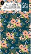 Fancy Flora Travelers Notebook Insert - Blank - Echo Park - PRE ORDER