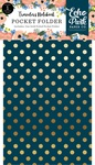 Fancy Flora Travelers Notebook Pocket Folder Insert - Echo Park