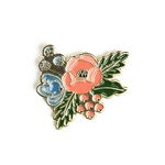 Fancy Flora Enamel Pin - Echo Park