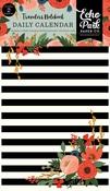Full Bloom Travelers Notebook Insert - Daily Calendar - Echo Park - PRE ORDER
