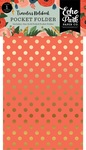 Full Bloom Travelers Notebook Pocket Folder Insert - Echo Park