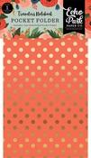 Full Bloom Travelers Notebook Pocket Folder Insert - Echo Park - PRE ORDER