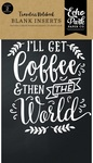 Coffee & Friends Travelers Notebook Insert - Blank - Echo Park
