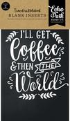 Coffee & Friends Travelers Notebook Insert - Blank - Echo Park - PRE ORDER