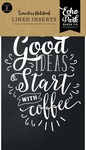 Coffee & Friends Travelers Notebook Insert - Lined - Echo Park