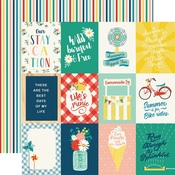 3X4 Journaling Card Paper - Good Day Sunshine - Echo Park - PRE ORDER
