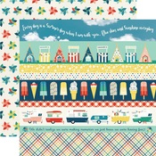 Border Strips Paper - Good Day Sunshine - Echo Park