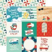 4X4 Journaling Card Paper - Good Day Sunshine - Echo Park