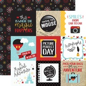 4X4 Journaling Cards Paper - Wish Upon A Star - Echo Park