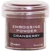Cranberry Metallic Embossing Powder