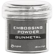 Gunmetal Metallic Embossing Powder