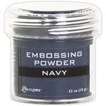 Navy Metallic Embossing Powder