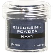 Navy Metallic Embossing Powder