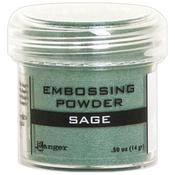 Sage Metallic Embossing Powder