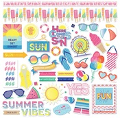 Those Summer Days Element Stickers - Photoplay - PRE ORDER