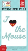 I Heart the Mouse Die Set - Echo Park - PRE ORDER