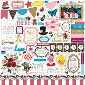 Alice in Wonderland Sticker Sheet - Echo Park