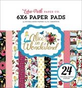 Alice in Wonderland 6x6 Paper Pad - Echo Park - PRE ORDER
