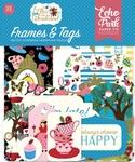 Alice in Wonderland Frames & Tags - Echo Park