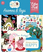 Alice in Wonderland Frames & Tags - Echo Park