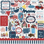 Celebrate America Element Sticker - Echo Park