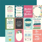 3x4 Journaling Card Paper - Have Faith - Echo Park