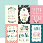 4x6 Journaling Card Paper - Have Faith - Echo Park - PRE ORDER