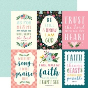 4x6 Journaling Card Paper - Have Faith - Echo Park