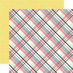 Perfect Plaid Paper - Have Faith - Echo Park - PRE ORDER