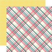 Perfect Plaid Paper - Have Faith - Echo Park