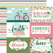 Journaling Card Paper - Have Faith - Echo Park