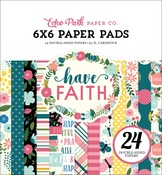 Have Faith 6x6 Paper Pad - Echo Park
