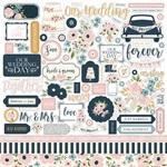 Just Married Sticker Sheet - Echo Park