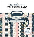 Just Married 6x6 Paper Pad - Echo Park - PRE ORDER