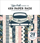 Just Married 6x6 Paper Pad - Echo Park