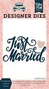 Just Married #2 Word Die Set - Echo Park