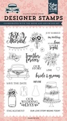 Bride & Groom Stamp - Echo Park