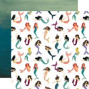 Magical Mermaids Paper - Mermaid Tales - Echo Park
