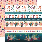 Border Strips Paper - Mermaid Tales - Echo Park