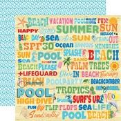 Splash Words Paper - Summer Splash - Carta Bella