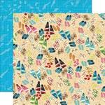 Toes in the Sand Paper - Summer Splash - Carta Bella - PRE ORDER