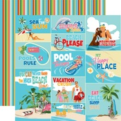 Scene Journaling Cards Paper - Summer Splash - Carta Bella