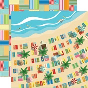 Seaside Paper - Summer Splash - Carta Bella - PRE ORDER