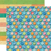 Bottle Caps Paper - Summer Splash - Carta Bella