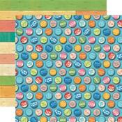 Bottle Caps Paper - Summer Splash - Carta Bella