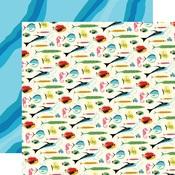 Gone Fishing Paper - Summer Splash - Carta Bella