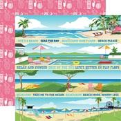 Border Strips Paper - Summer Splash - Carta Bella